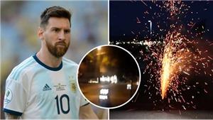 Brazil vs Argentina: CĐV Brazil đốt pháo giữa đêm, quấy rối Messi và đồng đội