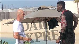 Báo động cho MU: Lộ ảnh Pogba gặp Zidane ở Dubai