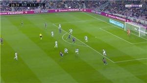 Ngỡ ngàng với pha kiến tạo siêu đẳng, loại bỏ 5 đối thủ, giúp Vidal ghi bàn của Messi