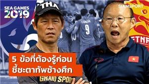 HLV Thái Lan: 'U22 Việt Nam dứt điểm không tốt, cứ gặp họ là cầu thủ của tôi đá sung'