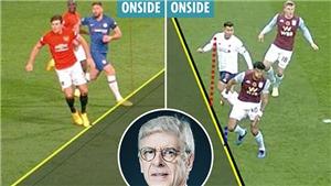 Arsene Wenger điều chỉnh luật việt vị, sẽ thay đổi những gì để tránh tranh cãi?