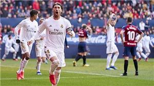 Osasuna 1-4 Real Madrid: Ngược dòng bằng 'mưa' bàn thắng, Real xây chắc ngôi đầu
