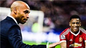 Vì sao Anthony Martial chưa thể đạt tới đẳng cấp như Thierry Henry?