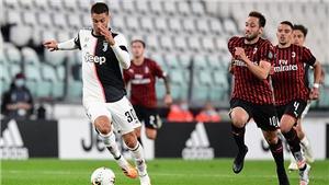 Juventus 0-0 Milan: Ronaldo đá hỏng penalty, Juve vẫn vào chung kết Coppa Italia