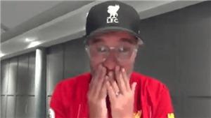 VIDEO: Juergen Klopp khóc trên truyền hình vì quá xúc động