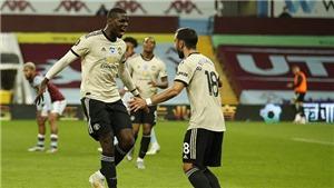 MU đã lập những kỉ luc nào sau chiến thắng trước Aston Villa?