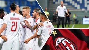 Sassuolo 1-2 AC Milan: Ibrahimovic lập cú đúp, Milan tiếp đà hồi sinh