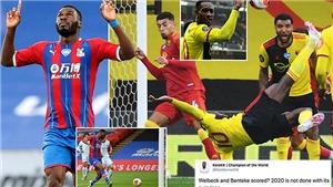 Ngoại hạng Anh: CĐV sốc vì 2 cầu thủ 'chân gỗ' rủ nhau ghi bàn