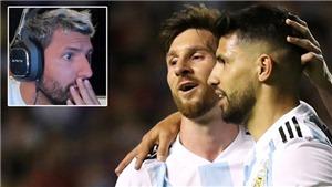 Aguero nổi giận, cấm CĐV nhắc tới tên Messi