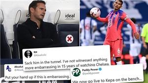CĐV Chelsea nổi giận, đòi sa thải HLV Lampard