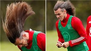Gareth Bale tháo dây chun khoe tóc cực dị khiến fan choáng váng