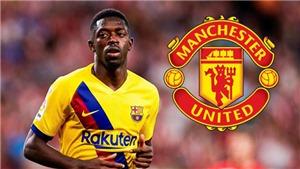 Chuyển nhượng bóng đá Anh: MU đàm phán mua sao Barca. Tottenham đón tiền đạo Brazil