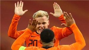 Giúp Hà Lan thoát thua, Van de Beek chính thức gửi thông điệp tới HLV MU