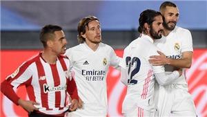 Real Madrid 3-1 Athletic Bilbao: Benzema tỏa sáng, Real tiếp đà thăng hoa