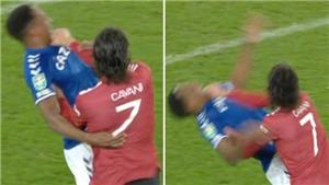 MU: Tranh cãi vụ Cavani thoát thẻ đỏ dù bóp cổ cầu thủ Everton