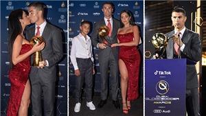 Bạn gái Ronaldo gợi cảm trong lễ trao giải Cầu thủ hay nhất thế kỷ