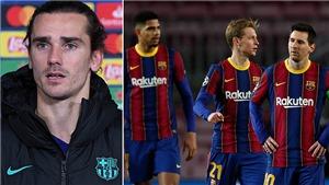 Griezmann: 'Vấn đề của Barca là thái độ thi đấu'