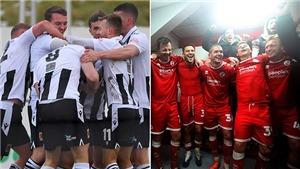 Bóng đá Anh gặp rắc rối vì cầu thủ ôm nhau ăn mừng ở FA Cup