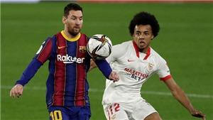 Sevilla 2-0 Barcelona: Người cũ Rakitic khiến Barca thua ở Cúp Nhà Vua