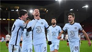 Sheffield United 1-2 Chelsea: 'The Blues' áp sát Liverpool