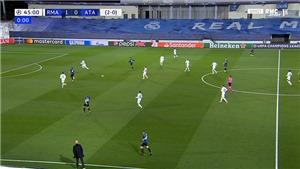 Trọng tài trận Real vs Atalanta gây tranh cãi với pha thổi còi kết thúc hiệp 1