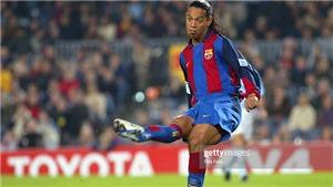 Xem lại pha chuyền bóng đỉnh cao của Ronaldinho 15 năm trước