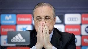 Florentino Perez hủy phỏng vấn, họp khẩn vì Super League
