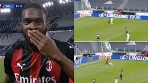 Tomori gây sốt khi 'đè văng' Ronaldo trận Milan hủy diệt Juventus