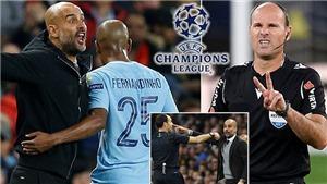 Trọng tài bị Guardiola mỉa mai bắt chung kết C1