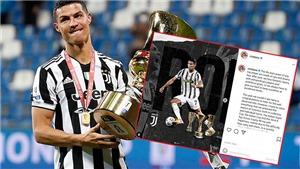 Ronaldo đã đăng thông điệp chia tay Juventus trên Instagram?