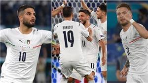 Điểm nhấn Thổ Nhĩ Kỳ 0-3 Ý: Cặp Insigne-Immobile đáng kỳ vọng. Ý có thể tiến xa