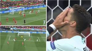 Ronaldo gây sốc với pha bỏ lỡ khó tin trước Hungary