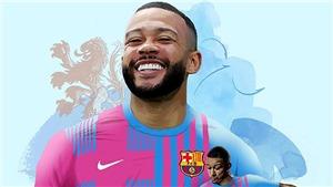 Memphis Depay chính thức gia nhập Barca