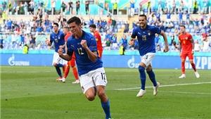 Bóng đá hôm nay 21/6: Ý, Xứ Wales dắt nhau đi tiếp. Thầy trò Mancini đi vào lịch sử EURO