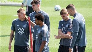 Đức giận dữ vì không thể tập luyện ở Wembley trước trận gặp Anh