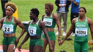 10VĐV điền kinh Nigeria bị cấm tranh tài ở Olympic Tokyo