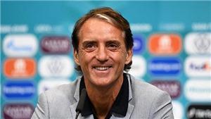 HLV Mancini: 'Ý thắng xứng đáng, lẽ ra có thể thắng đậm hơn'