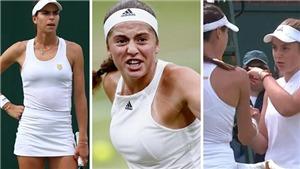 Bê bối ở Wimbledon: Hai tay vợt nữ tranh cãi nảy lửa trên sân, tố nhau dối trá