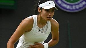 Chuyện cổ tích của tay vợt tuổi teen ở Wimbledon kết thúc trong nước mắt