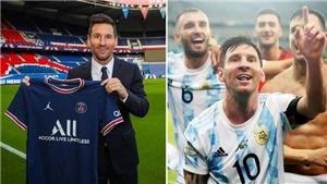 Messi 'ưu tiên Argentina' trong điều khoản hợp đồng với PSG