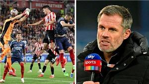 Jamie Carragher: 'Mùa mới nhưng vẫn là Arsenal cũ, yếu đuối và dễ bị bắt nạt'