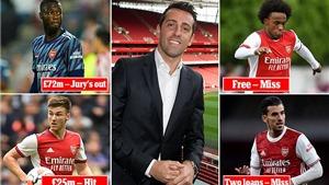Liệu Arsenal có thành công với gói mua sắm 130 triệu bảng?