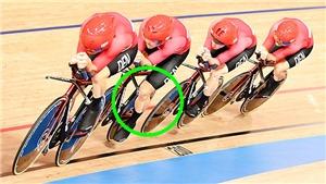Đội đua Đan Mạch bị tố mặc trang phục gian lận ở Olympic