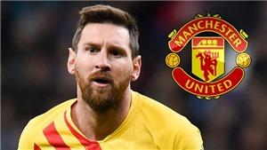 Chuyển nhượng MU 7/8: MU đề xuất hợp đồng 50 triệu euro với Messi. De Gea ở lại
