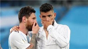 Sergio Aguero: 'Tôi đã sốc khi Messi rời Barcelona'