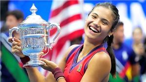 Tennis: Emma Raducanu ăn mừng chiến thắng US Open ra sao?