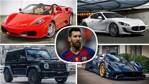 Lionel Messi vượt Ronaldo, sở hữu bộ sưu tập siêu xe đắt nhất thế giới