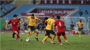 CHÙM ẢNH: Việt Nam đã có một trận đấu kiên cường trước Úc