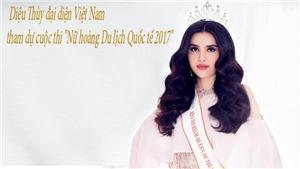 Á hậu Diệu Thùy: Hồi hộp khi nhận lời dự thi 'Nữ hoàng Du lịch Quốc tế'