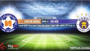 Soi kèo bóng đá: Đà Nẵng đấu với Hà Nội (17h00 hôm nay). Trực tiếp V League 2019